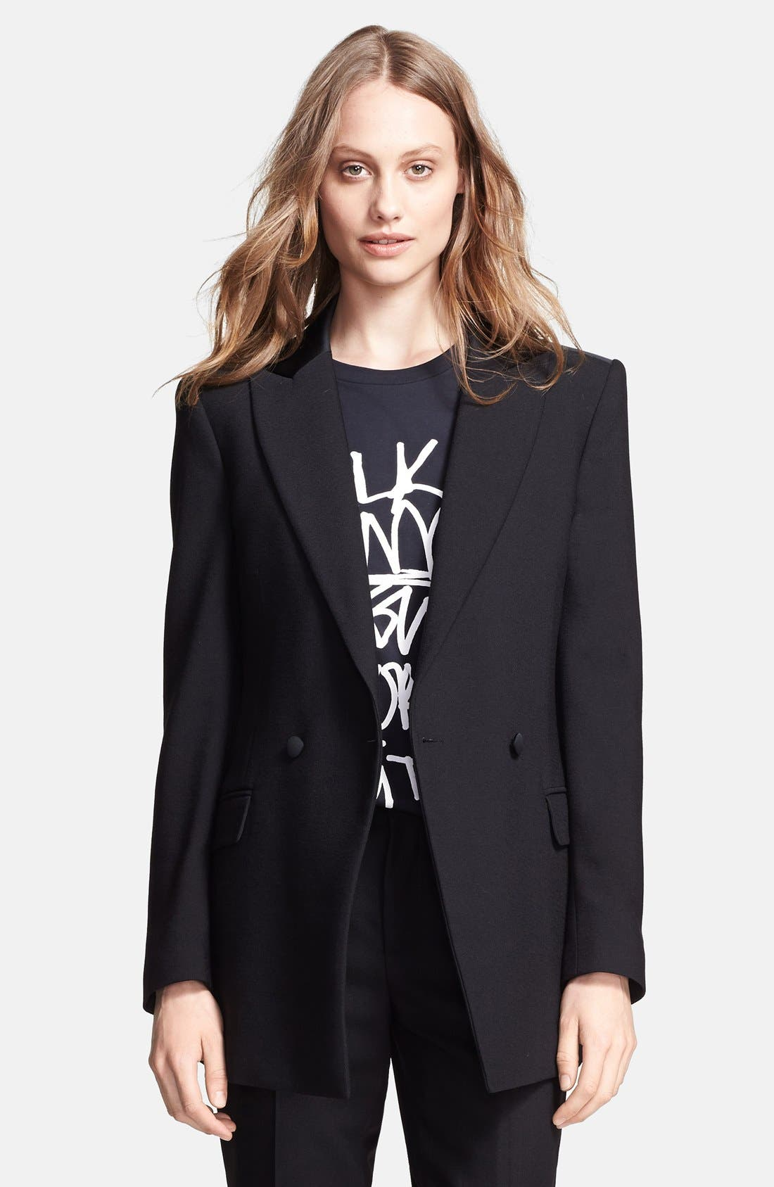 Alternate Image 1 Selected - BLK DNM Crepe Tuxedo Jacket
