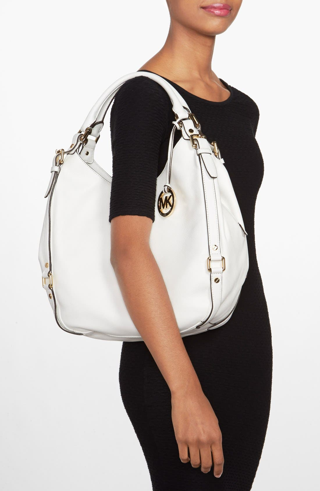 Alternate Image 2  - MICHAEL Michael Kors 'Bedford - Large' Shoulder Hobo