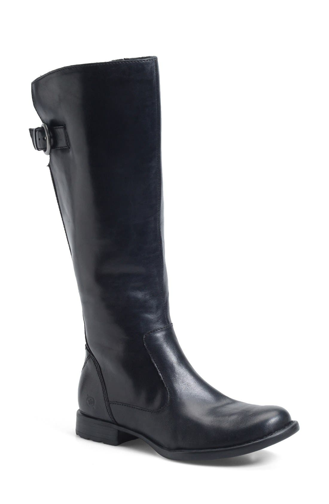 Alternate Image 1 Selected - Børn 'Lottie' Round Toe Boot (Women)