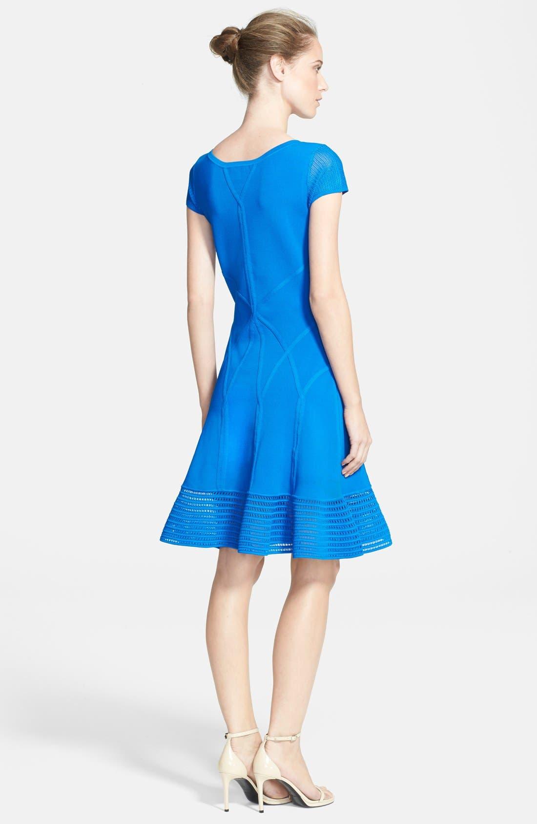 Alternate Image 2  - Diane von Furstenberg 'St. Petersburg' Knit A-Line Dress