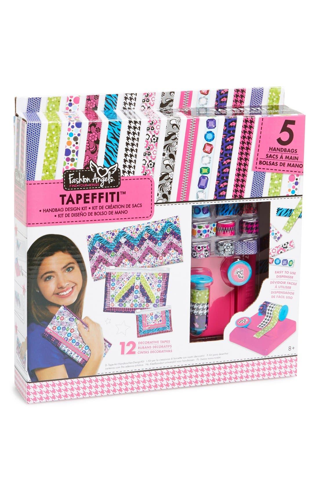 Alternate Image 1 Selected - Fashion Angels 'Tapefetti™' Handbag Kit