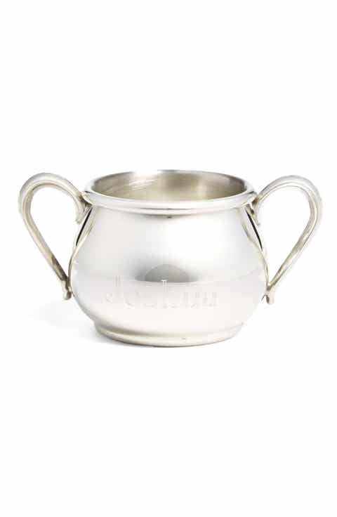 Salisbury pewter baby shower gifts nordstrom salisbury pewter personalized double handle cup negle Gallery