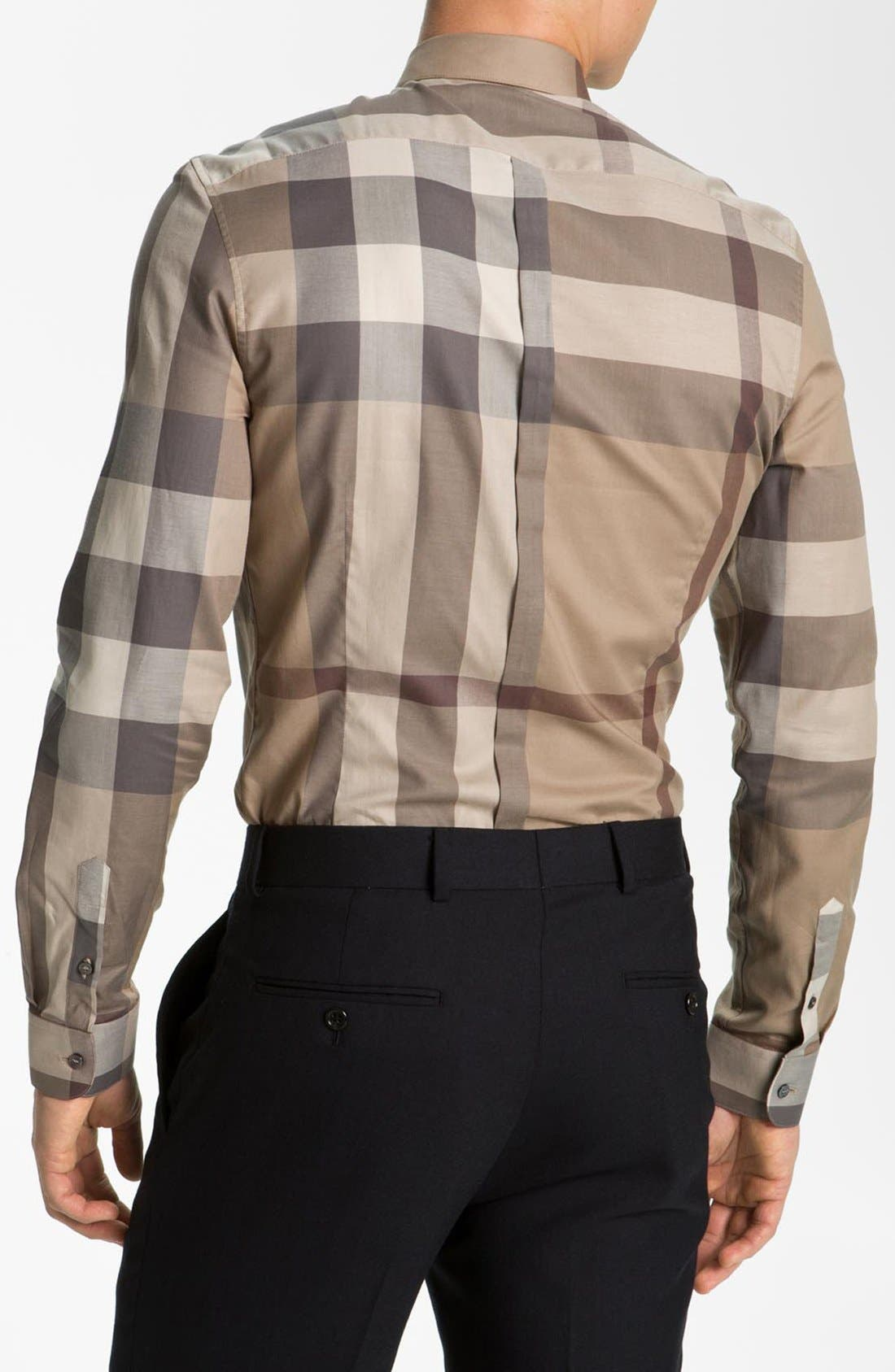 Alternate Image 2  - Burberry London 'Pembury' Trim Fit Check Shirt