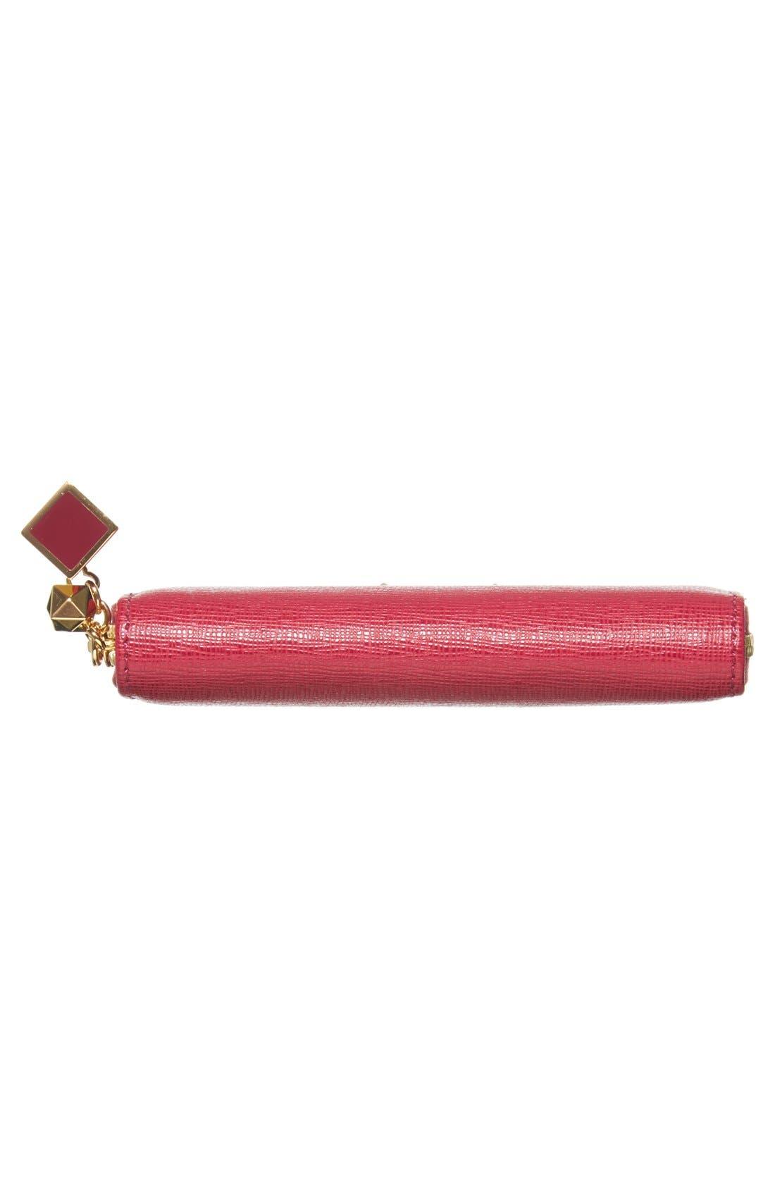 Alternate Image 6  - Fendi 'Crayons' Leather Zipper Pouch