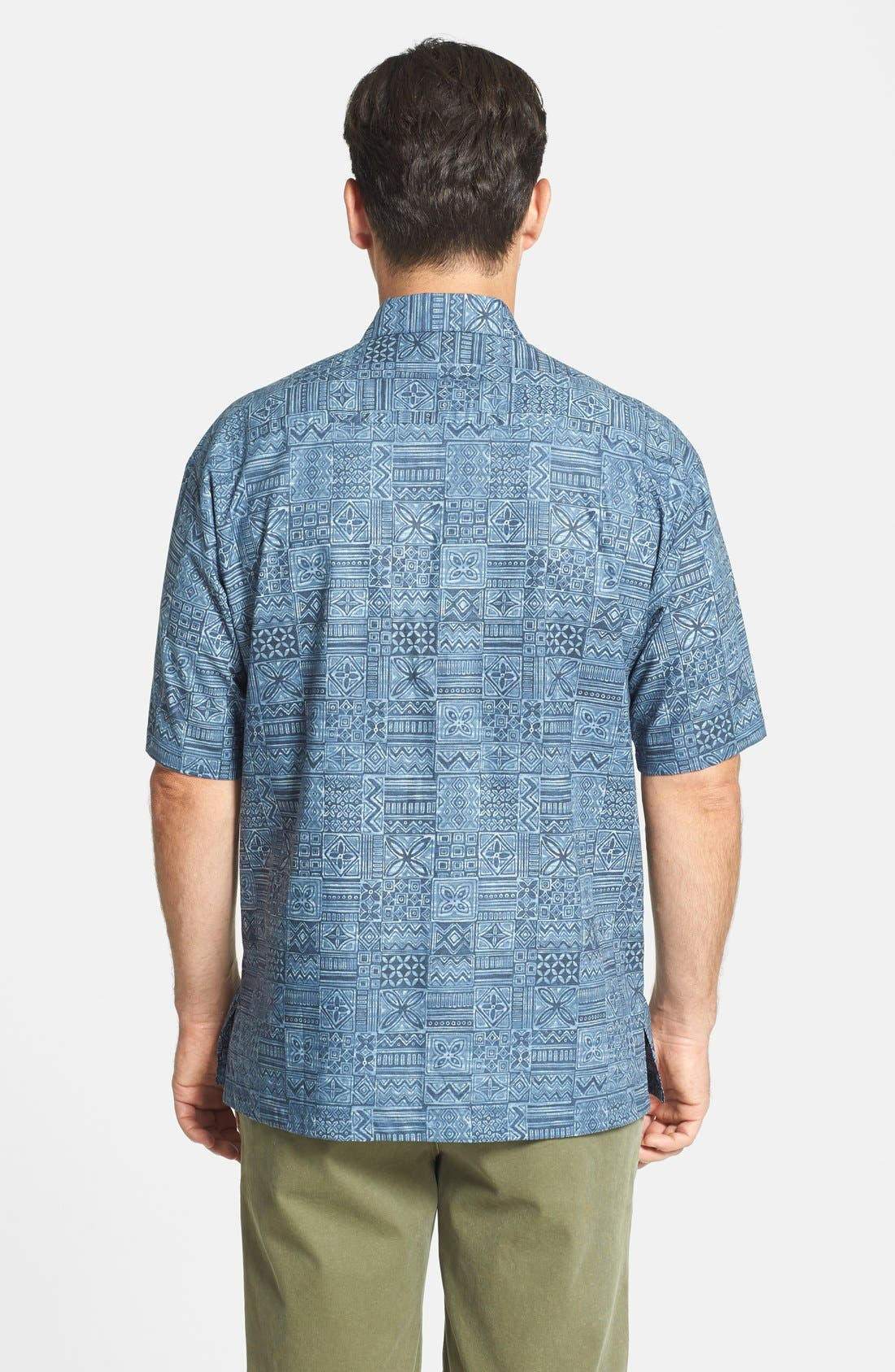Alternate Image 2  - Tori Richard 'Tapa Maze' Cotton Lawn Campshirt
