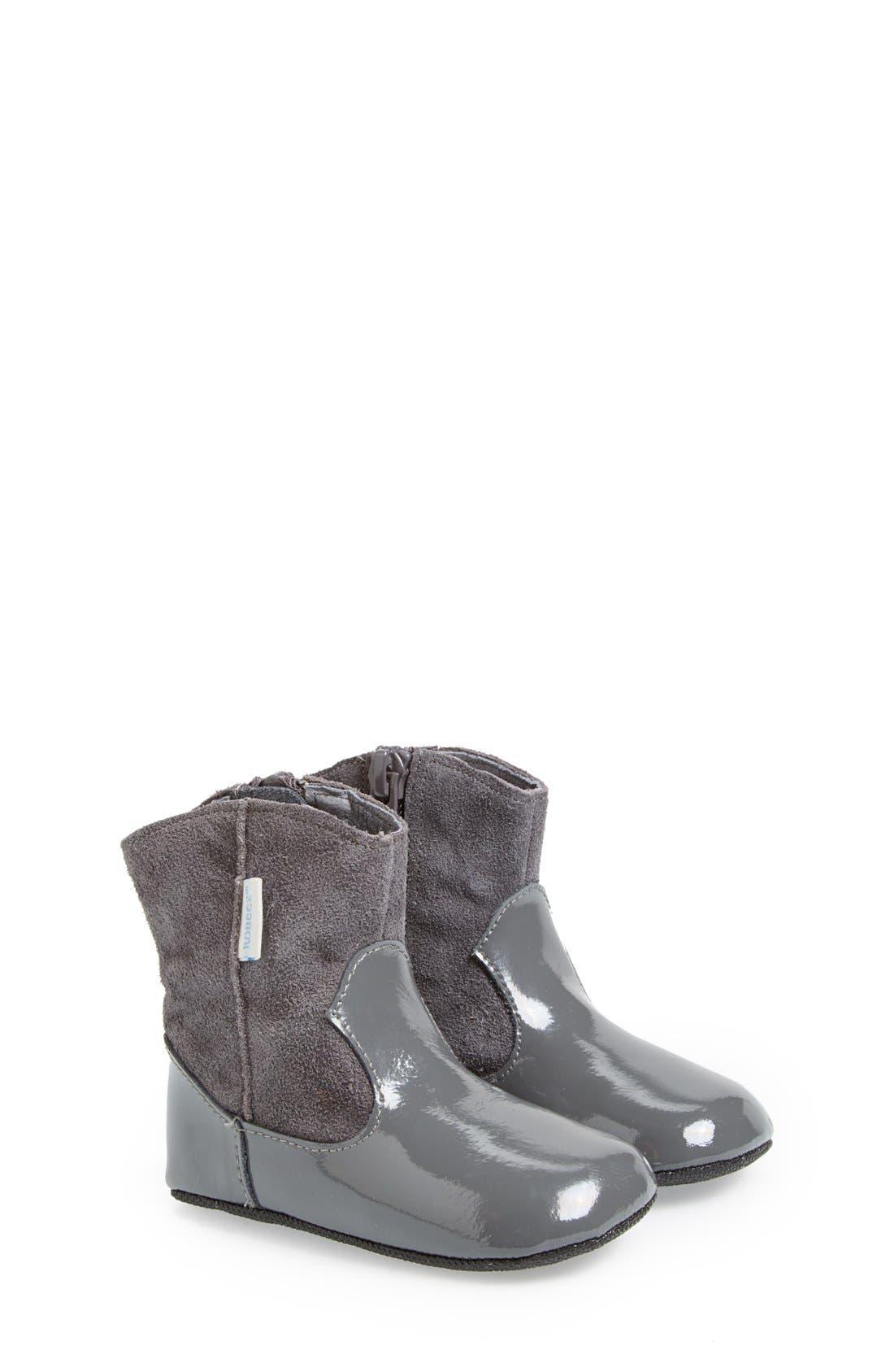 Mini Shoez 'Clementine' Boot,                         Main,                         color, Pewter