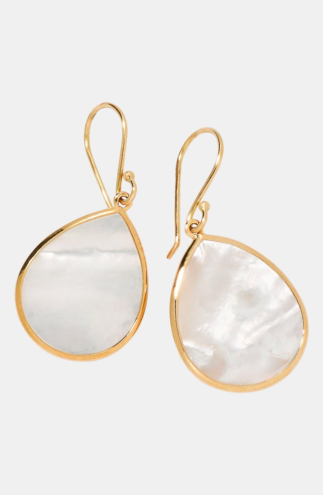 Alternate Image 1 Selected - Ippolita 'Rock Candy - Mini Teardrop' 18k Gold Earrings