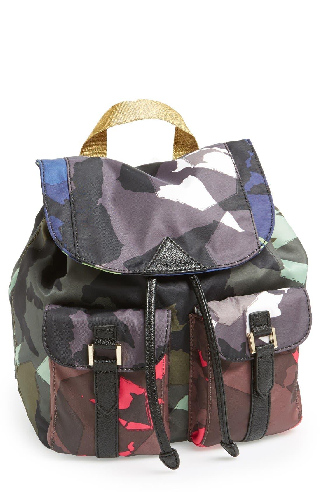 Alternate Image 1 Selected - Sam Edelman 'Large' Nylon Backpack