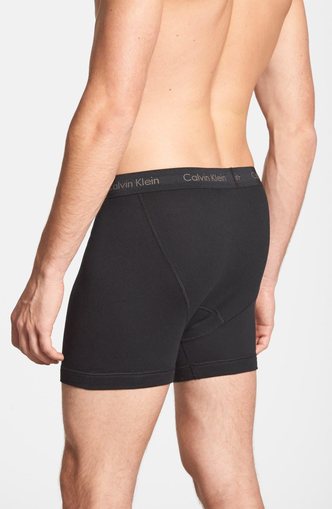 Alternate Image 3  - Calvin Klein 3-Pack Boxer Briefs