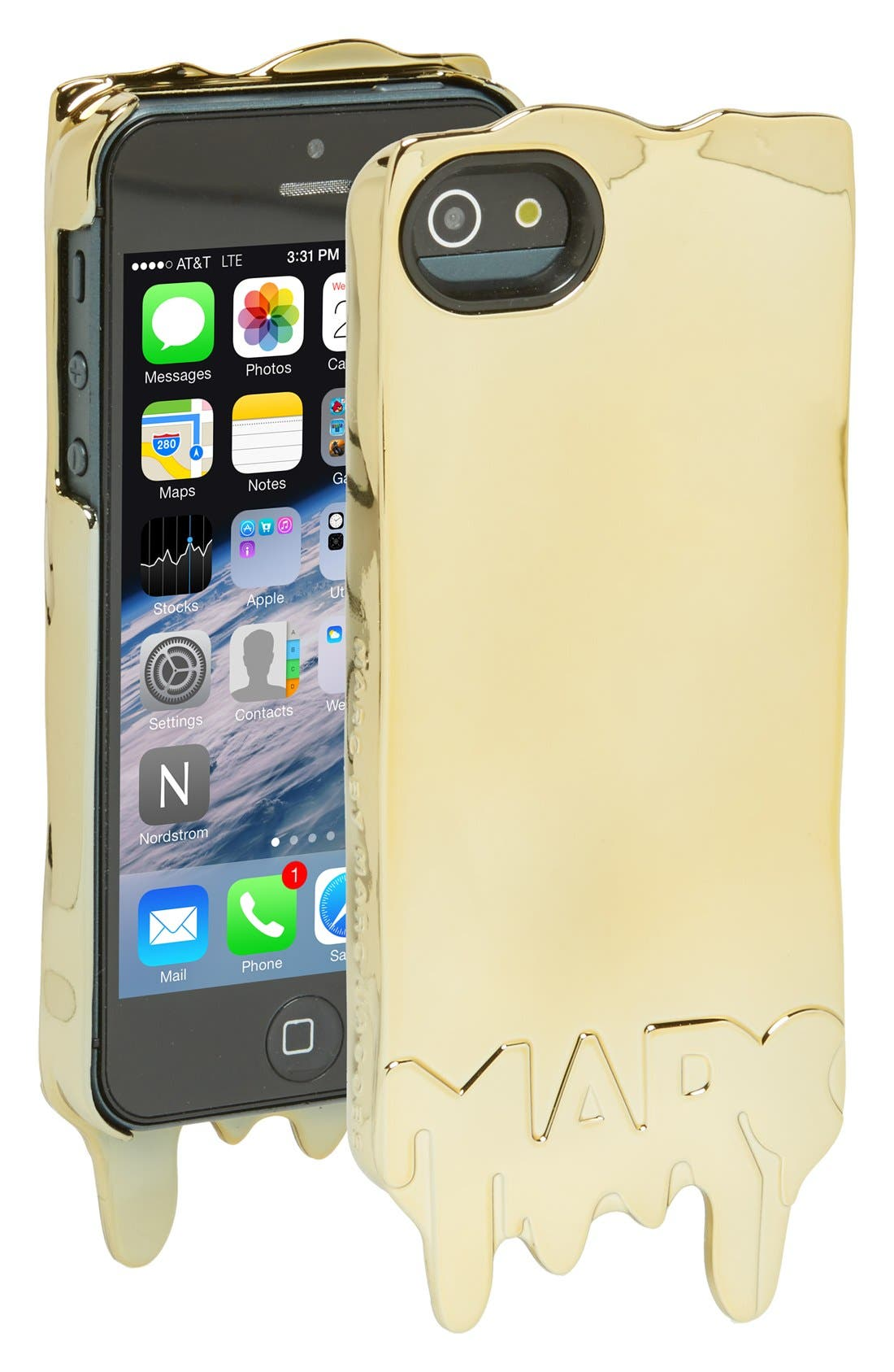 Alternate Image 1 Selected - MARC BY MARC JACOBS 'Melts' iPhone 5 & 5S Case