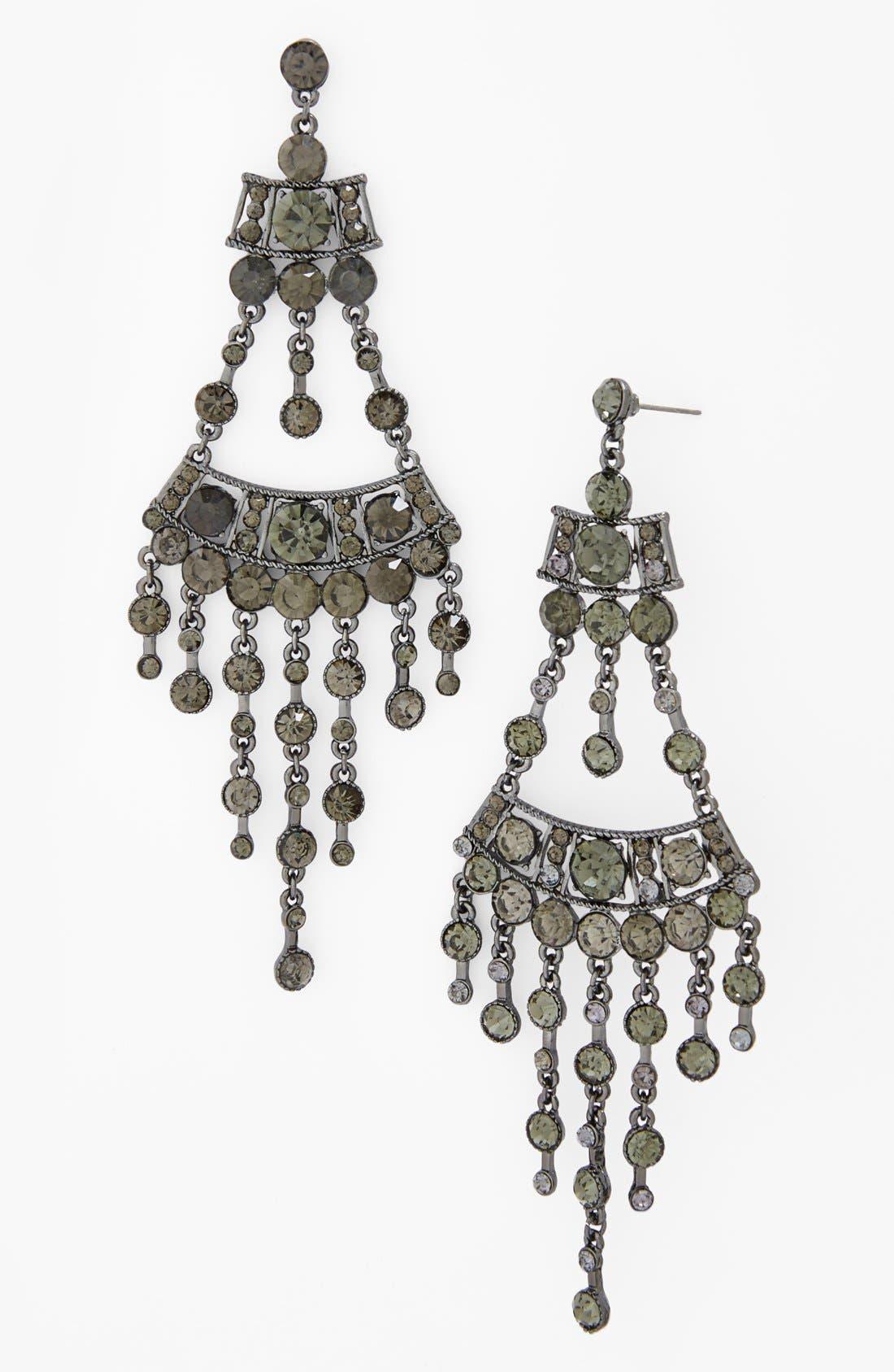 Alternate Image 1 Selected - Natasha Couture 'Drama' Chandelier Earrings