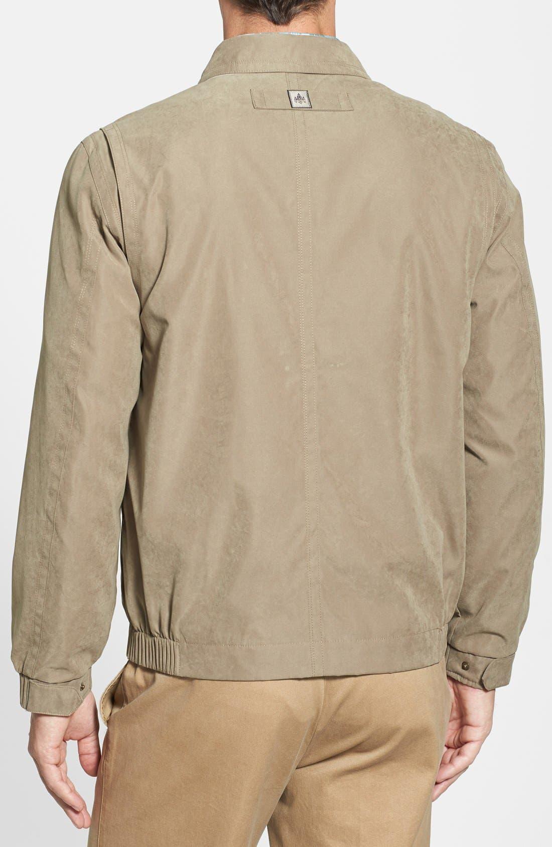 'Microseta' Lightweight Golf Jacket,                             Alternate thumbnail 2, color,                             Khaki