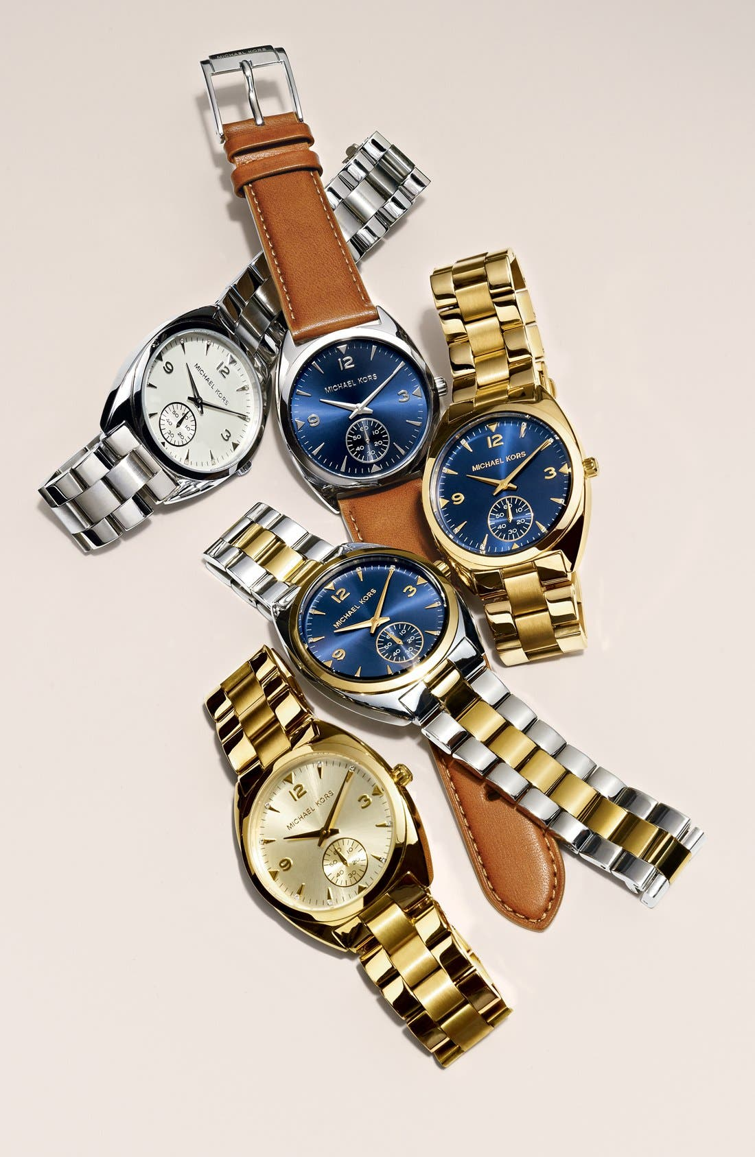 Alternate Image 4  - Michael Kors 'Callie' Multifunction Bracelet Watch, 39mm