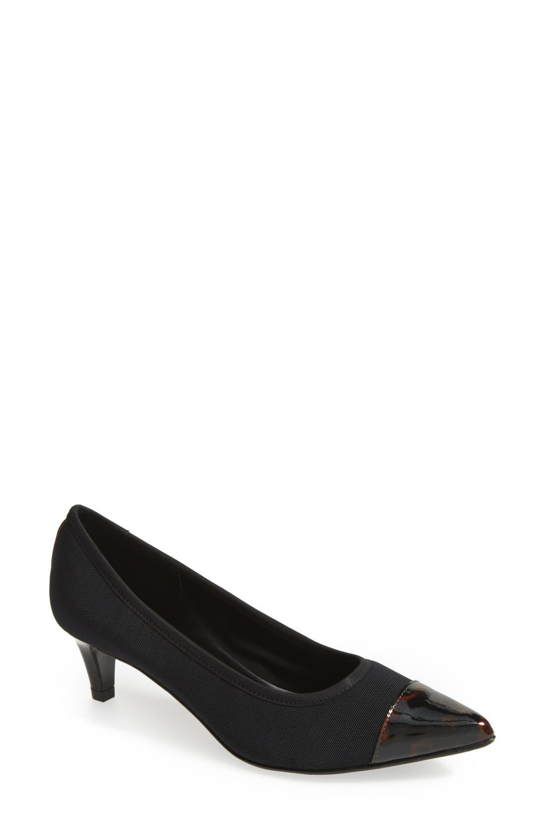 Alternate Image 1 Selected - VANELi 'Taya' Cap Toe Pump (Women)