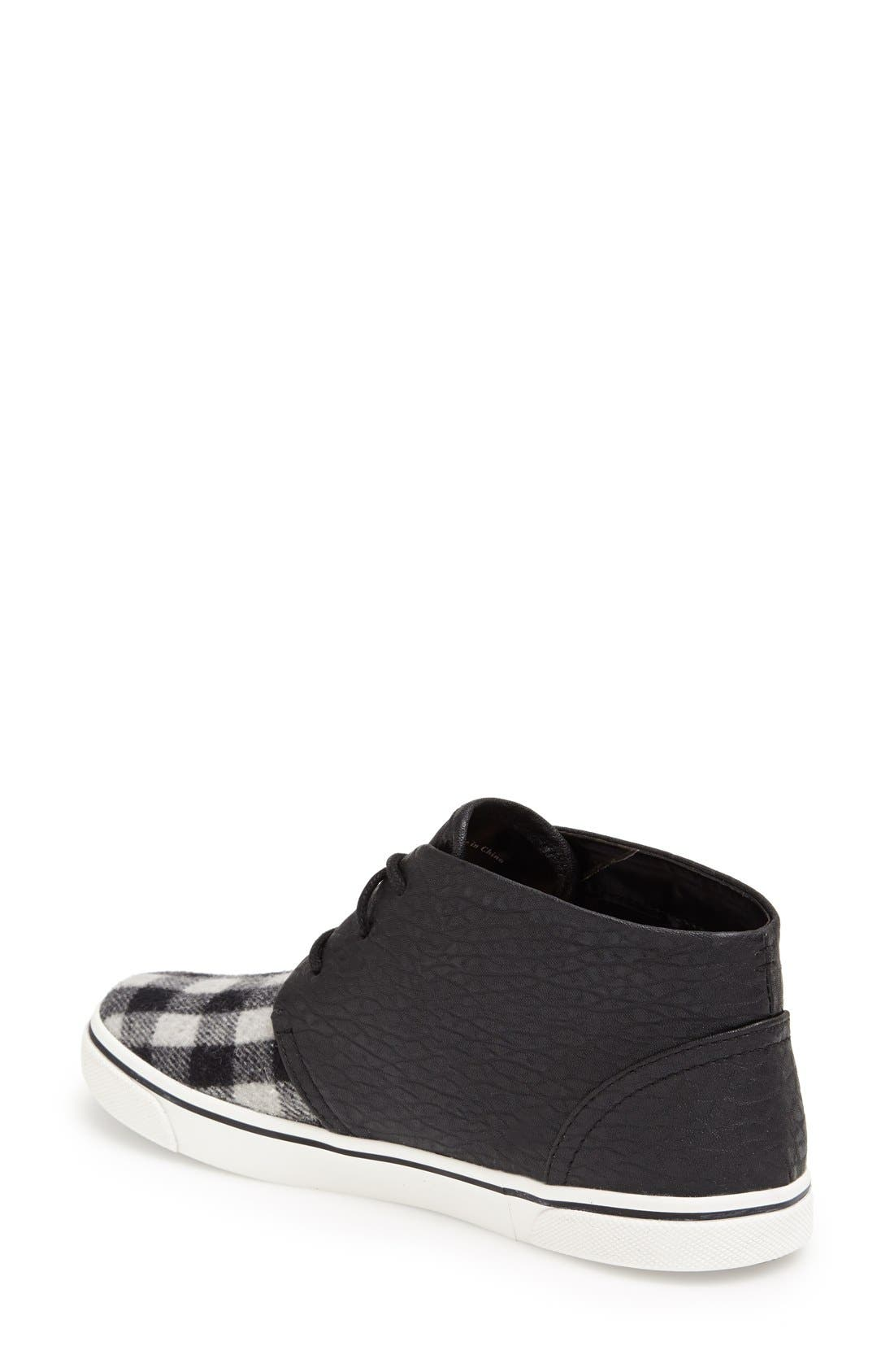 DV by Dolce Vita 'Giaa' Sneaker,                             Alternate thumbnail 2, color,                             Charcoal/ Black