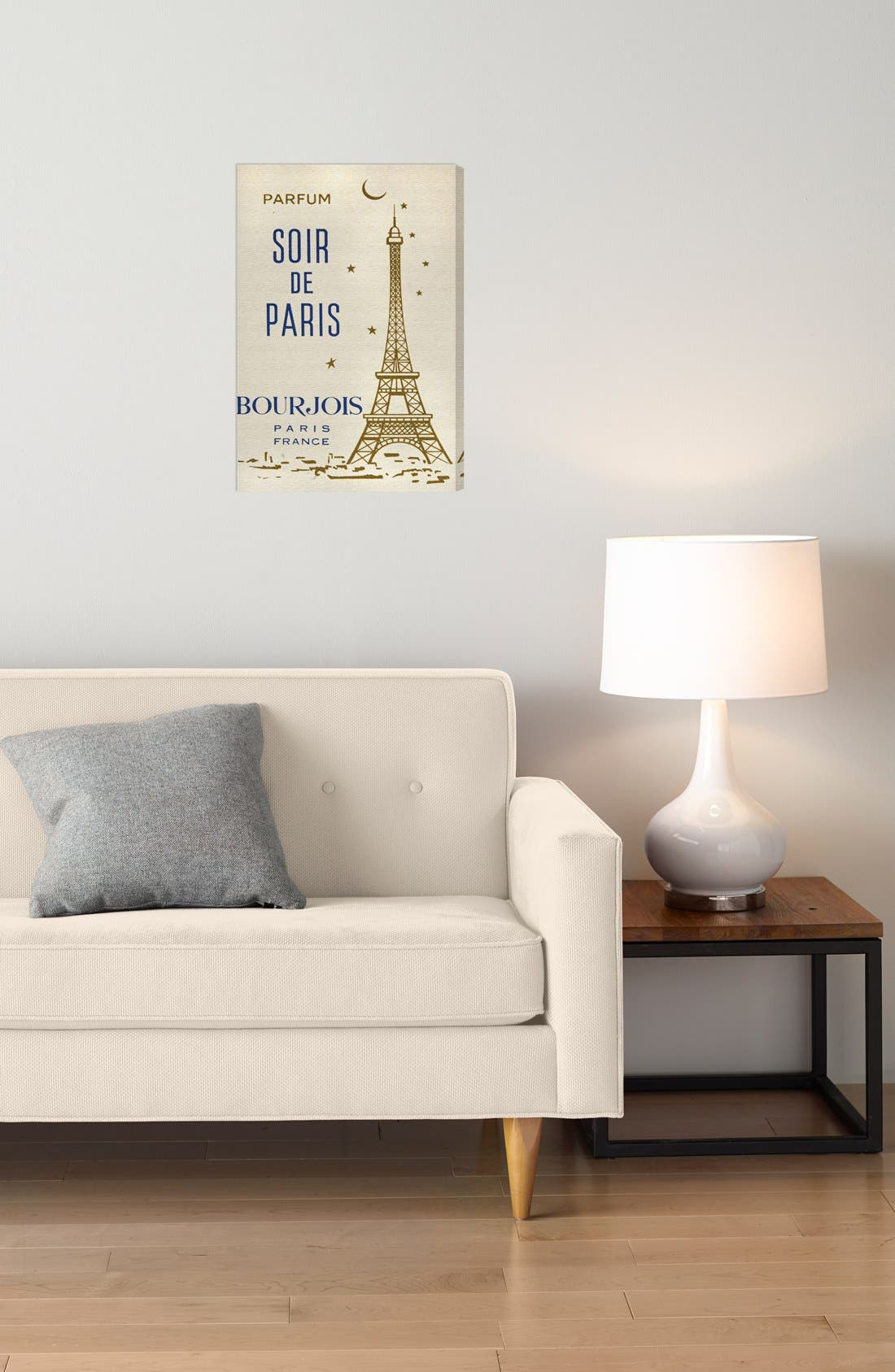 'Parfum Soir de Paris' Wall Art,                             Alternate thumbnail 2, color,                             Beige/ Khaki