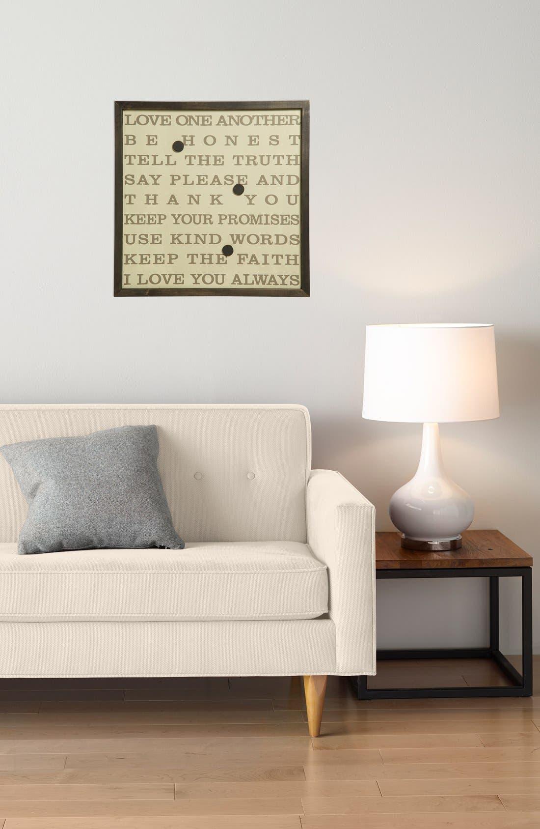 Alternate Image 2  - Petal Lane Love Art Magnetic Board