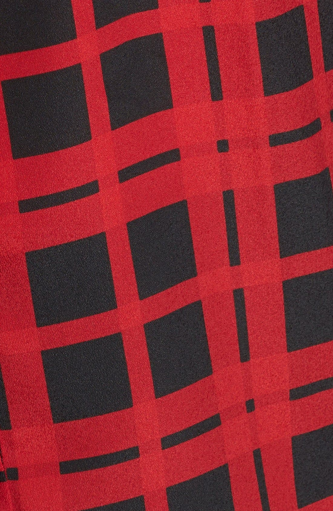 Alternate Image 3  - MICHAEL Michael Kors 'Townsend' Embellished Plaid Blouse (Regular & Petite)