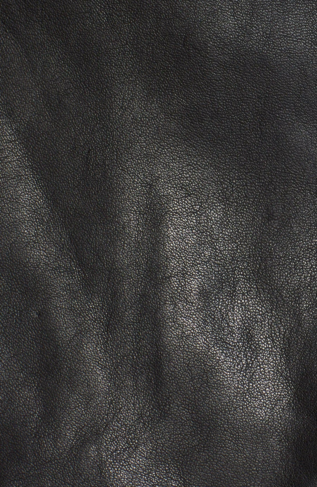 Alternate Image 3  - The Kooples Leather Moto Miniskirt