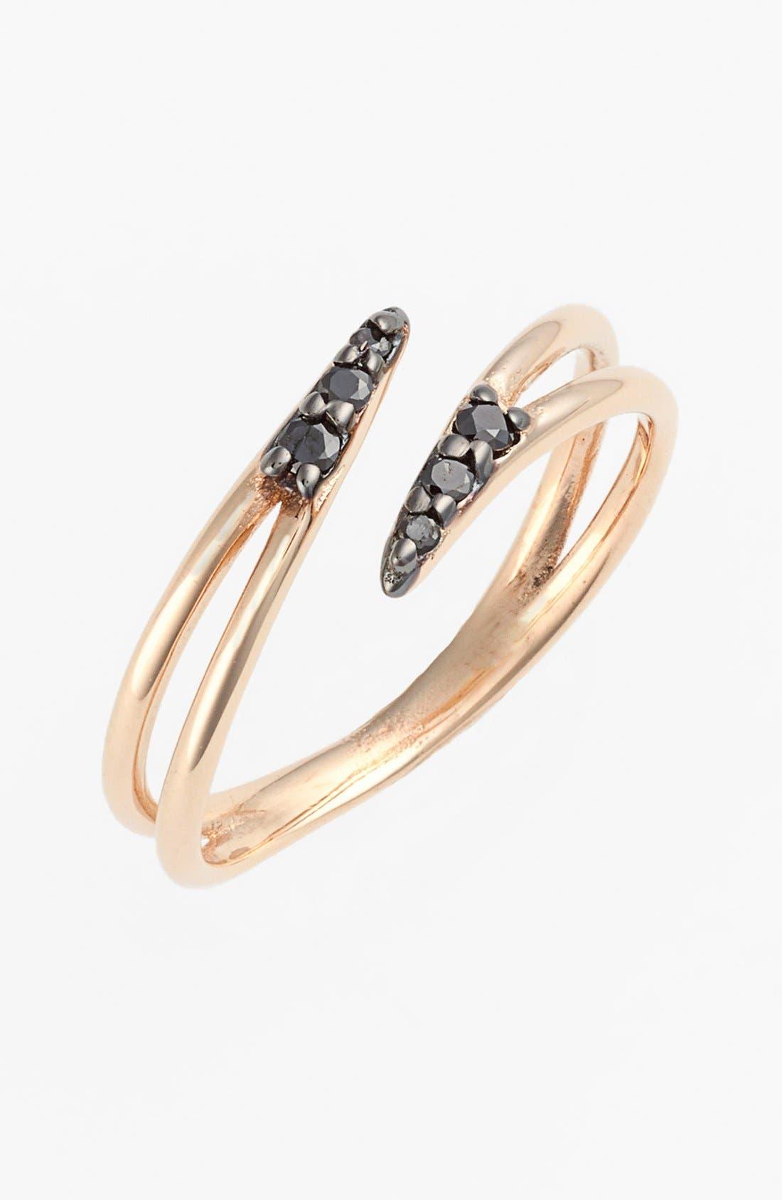 Alternate Image 1 Selected - kismet by milka 'Lumiere' Diamond Midi Ring