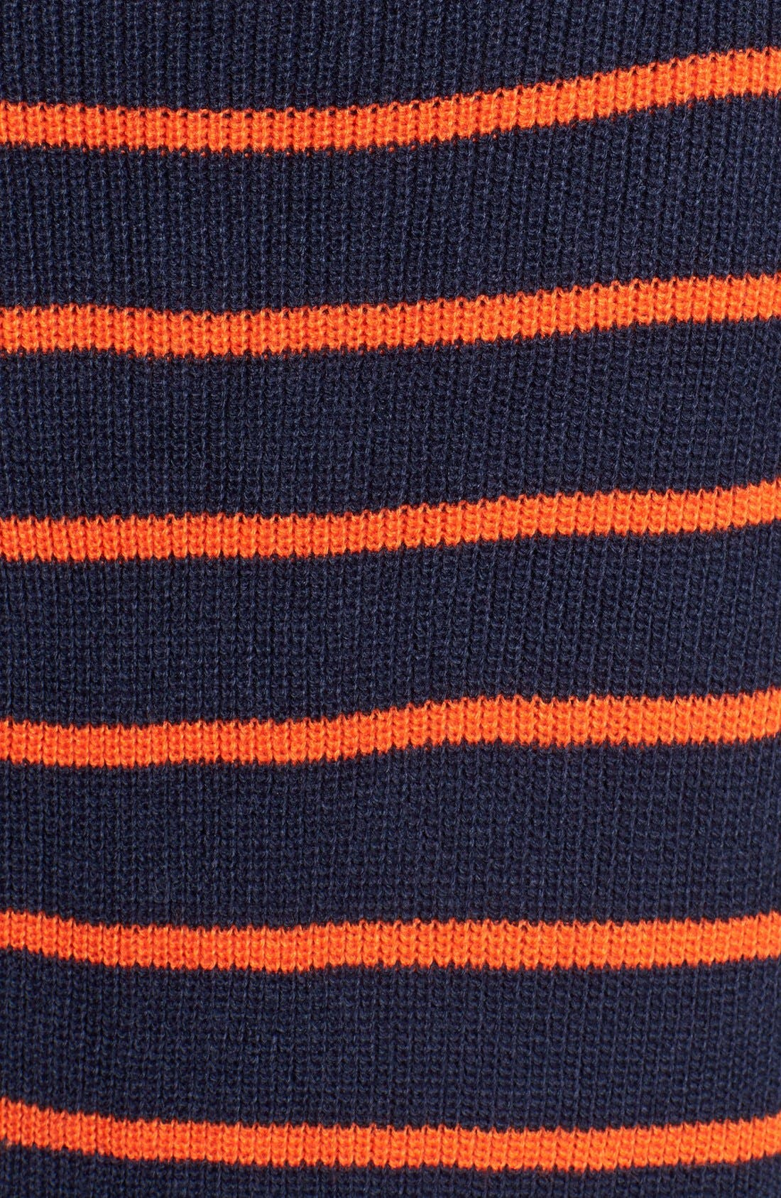 Treasure&Bond Oversize Stripe Tunic,                             Alternate thumbnail 3, color,                             Orange Cherry Morgan Stripe