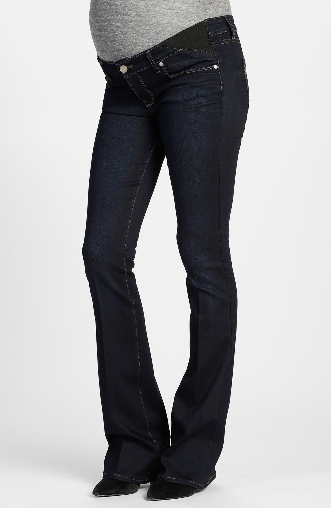 PAIGE 'Transcend - Skyline' Bootcut Maternity Jeans (Mona) | Nordstrom