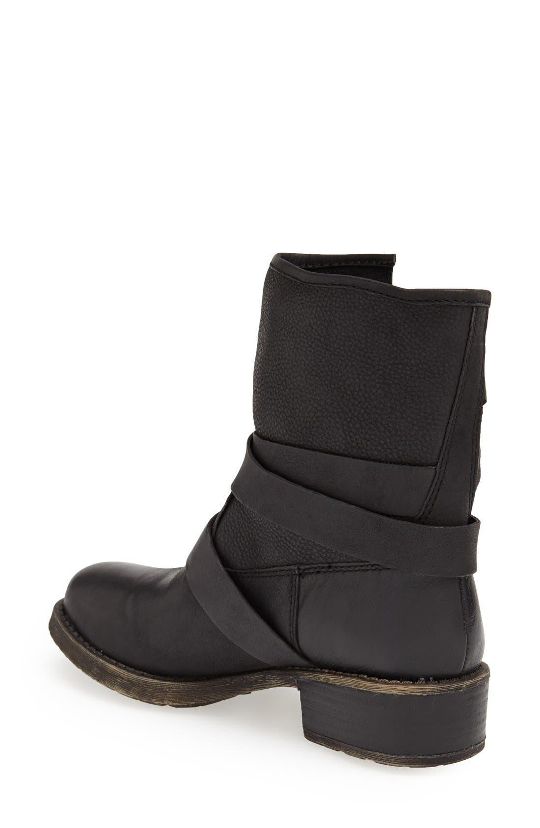 Alternate Image 2  - Lucky Brand 'Dallis' Moto Boot (Women)