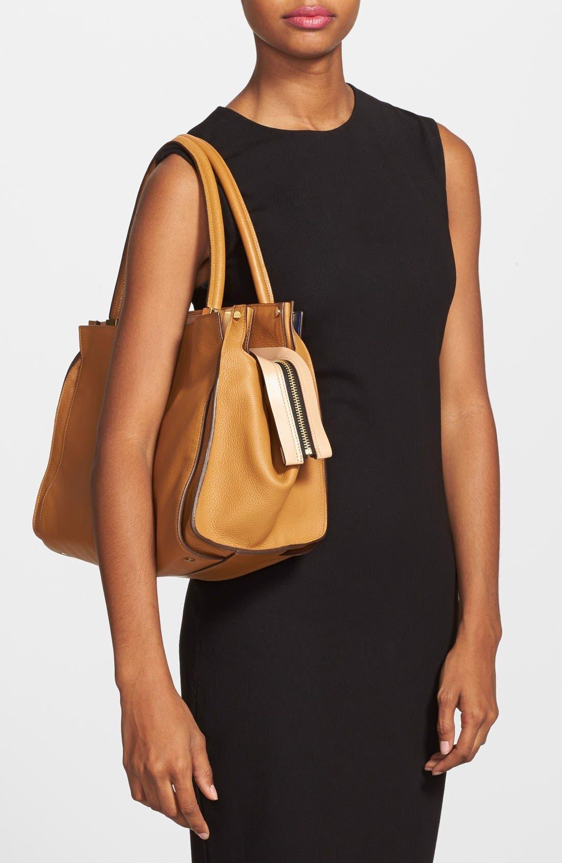 Alternate Image 2  - Chloé 'Dree - Medium' Leather Satchel