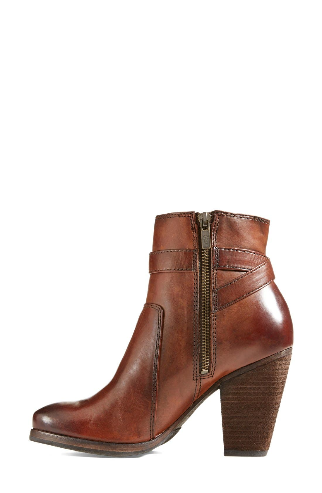 Alternate Image 7  - Frye 'Patty' Leather Riding Bootie (Women)