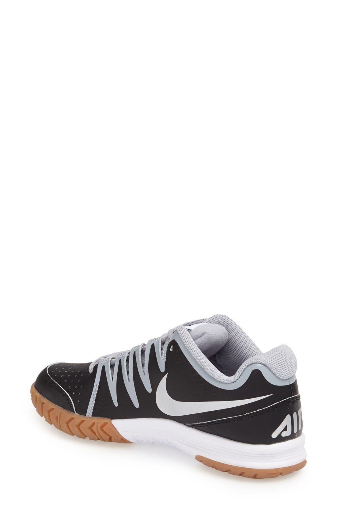 Alternate Image 2  - Nike 'Air Vapor - Indoor Court' Tennis Shoe (Women)