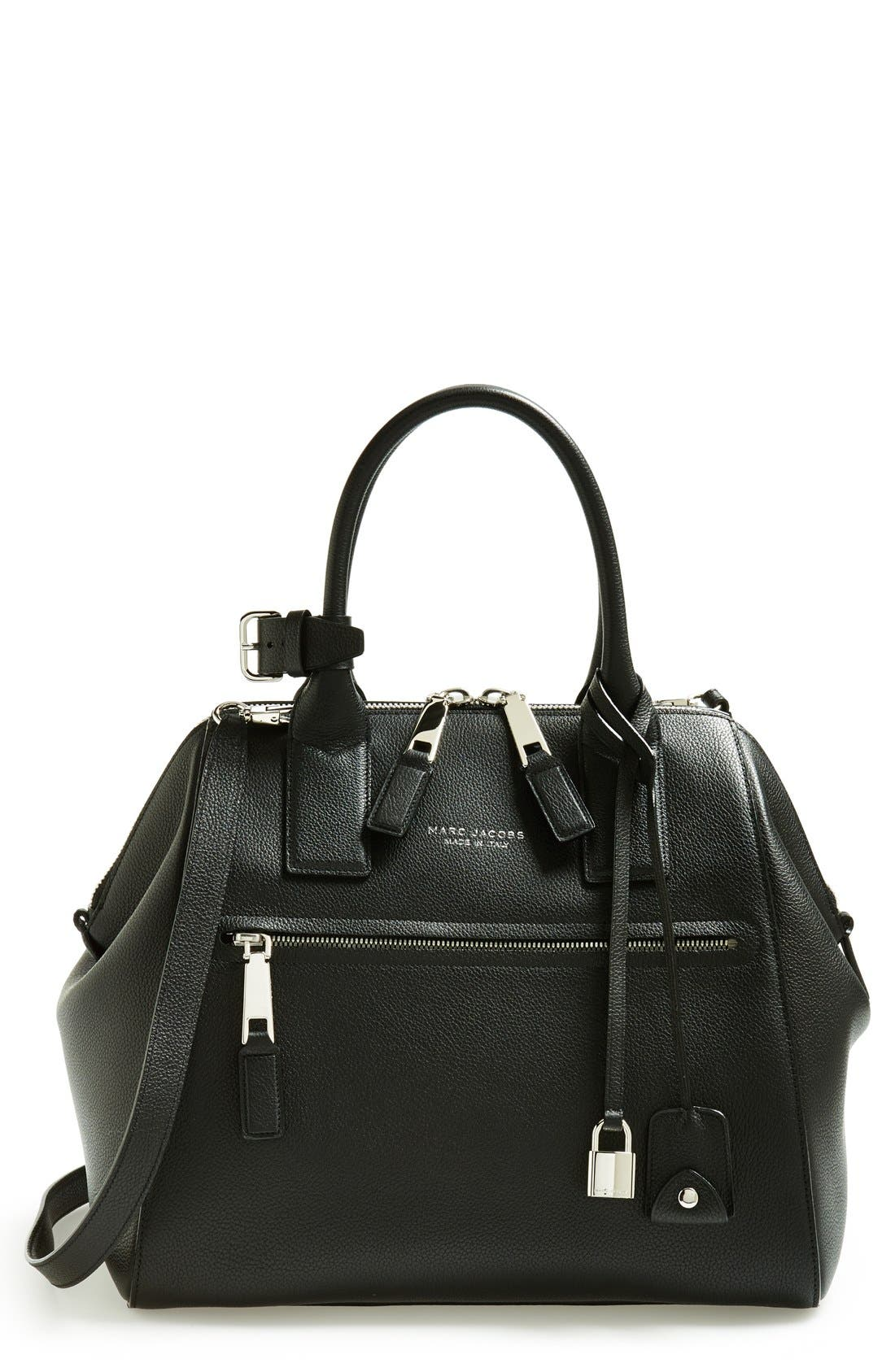 Alternate Image 1 Selected - MARC JACOBS 'Large Incognito' Leather Satchel