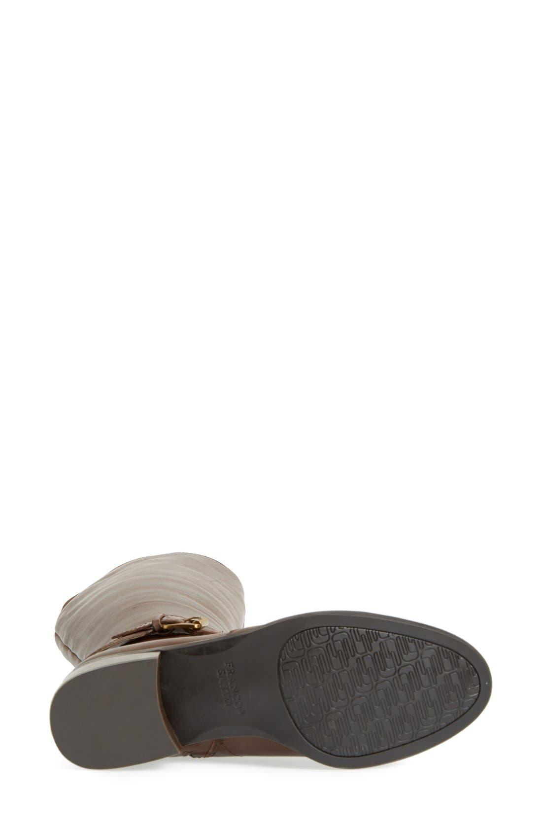 Alternate Image 4  - Franco Sarto 'Craze' Knee High Leather Boot (Women)