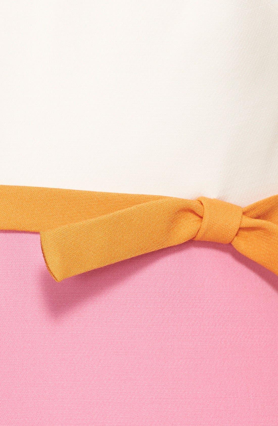 Alternate Image 4  - Valentino Tricolor Crepe Dress