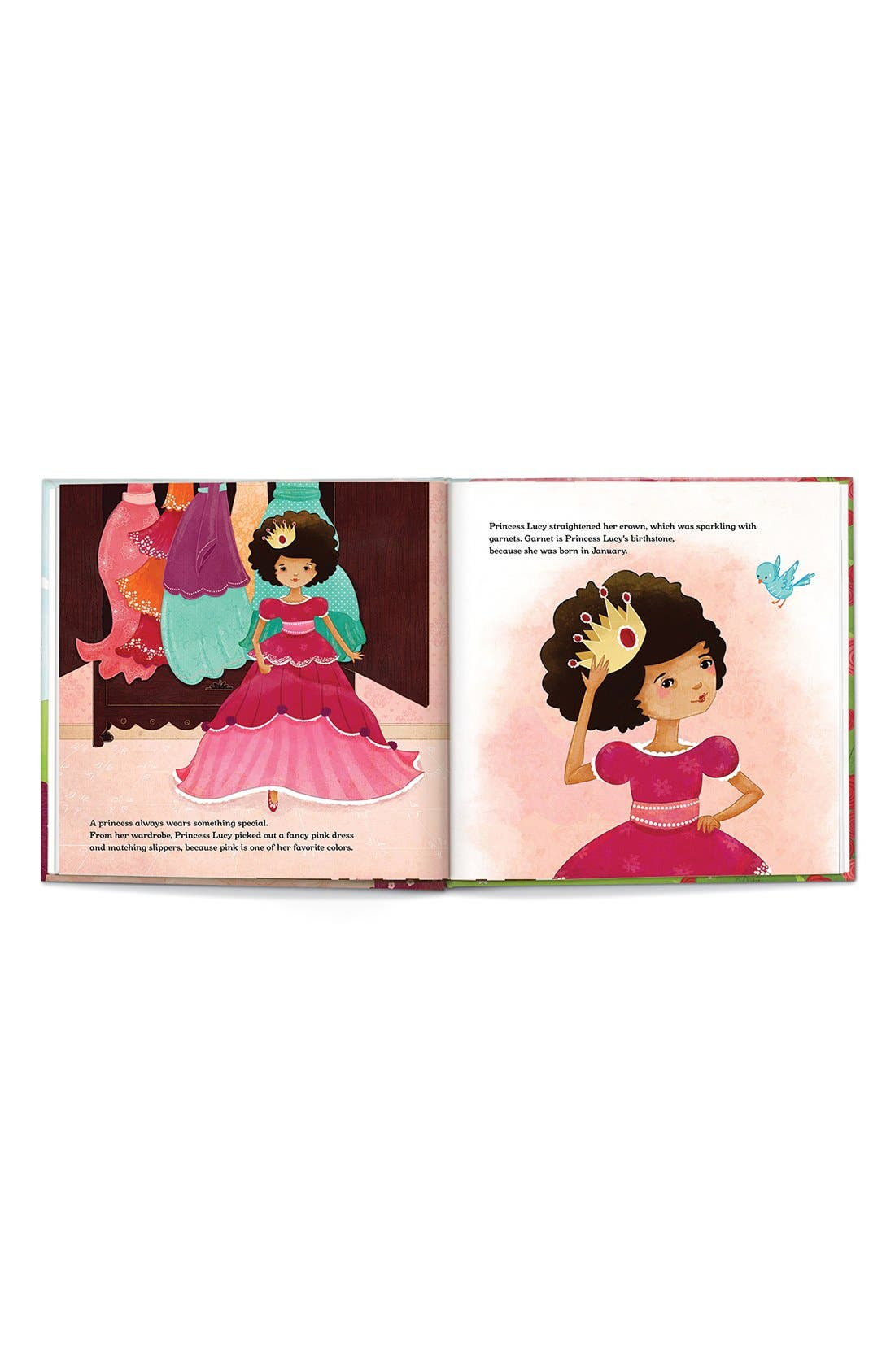 Alternate Image 2  - 'Princess' Personalized Book