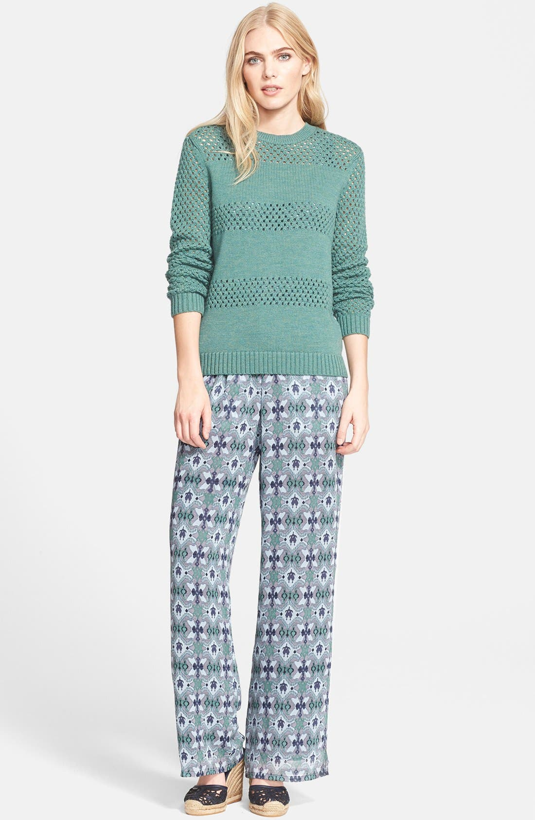 Alternate Image 4  - Tory Burch 'Laguna' Print Silk Jumpsuit