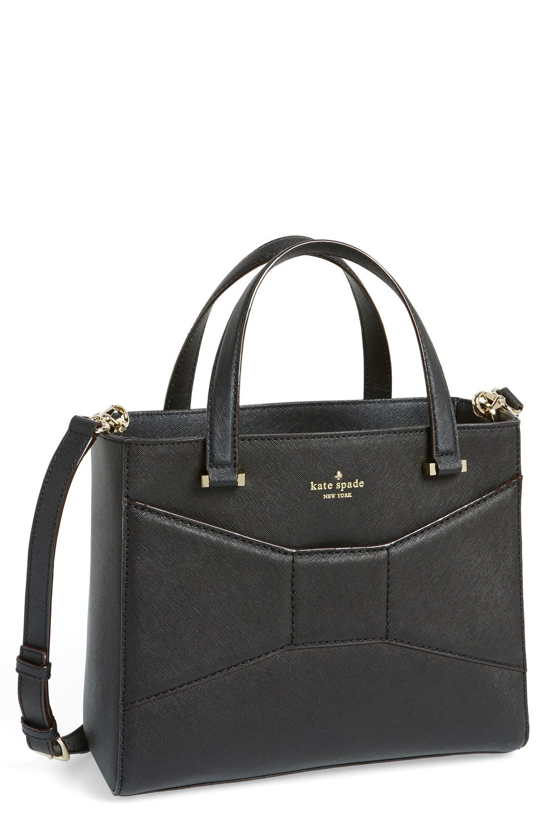 Alternate Image 1 Selected - kate spade new york '2 park avenue sweetheart' saffiano leather crossbody tote
