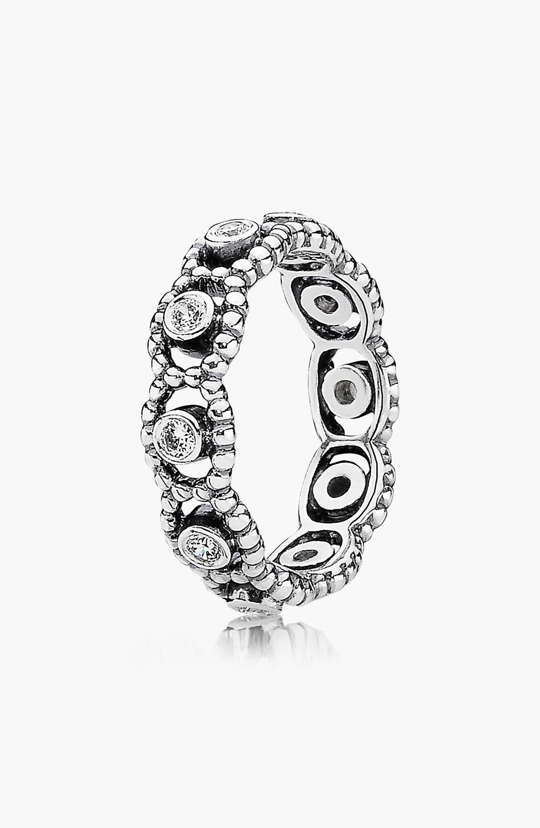 Alternate Image 1 Selected - PANDORA 'Her Majesty' Band Ring