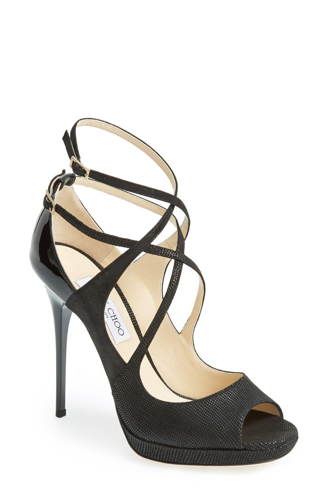 Alternate Image 1 Selected - Jimmy Choo 'Atlas' Platform Sandal (Women)