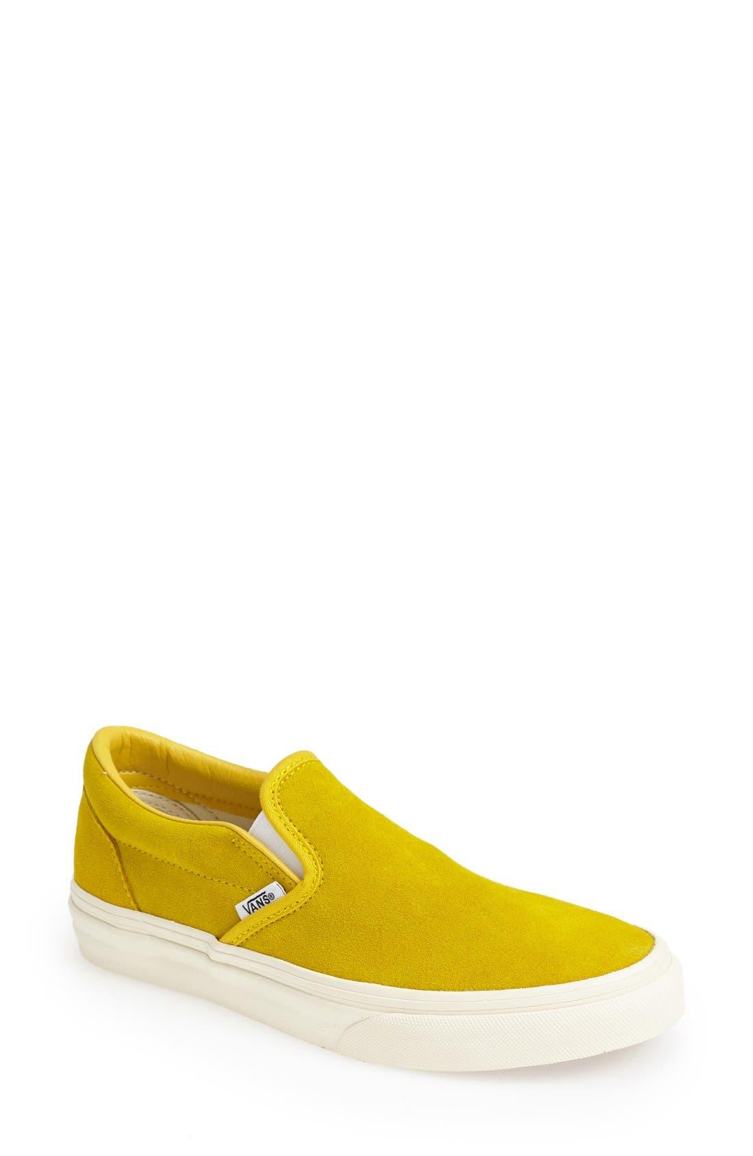 Alternate Image 1 Selected - Vans Suede Slip-On Sneaker (Women)