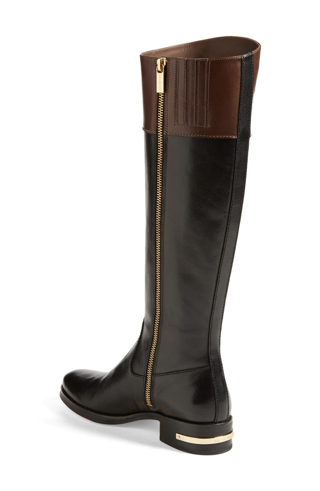 Alternate Image 2  - MICHAEL Michael Kors 'Hayley' Leather Boot (Women)