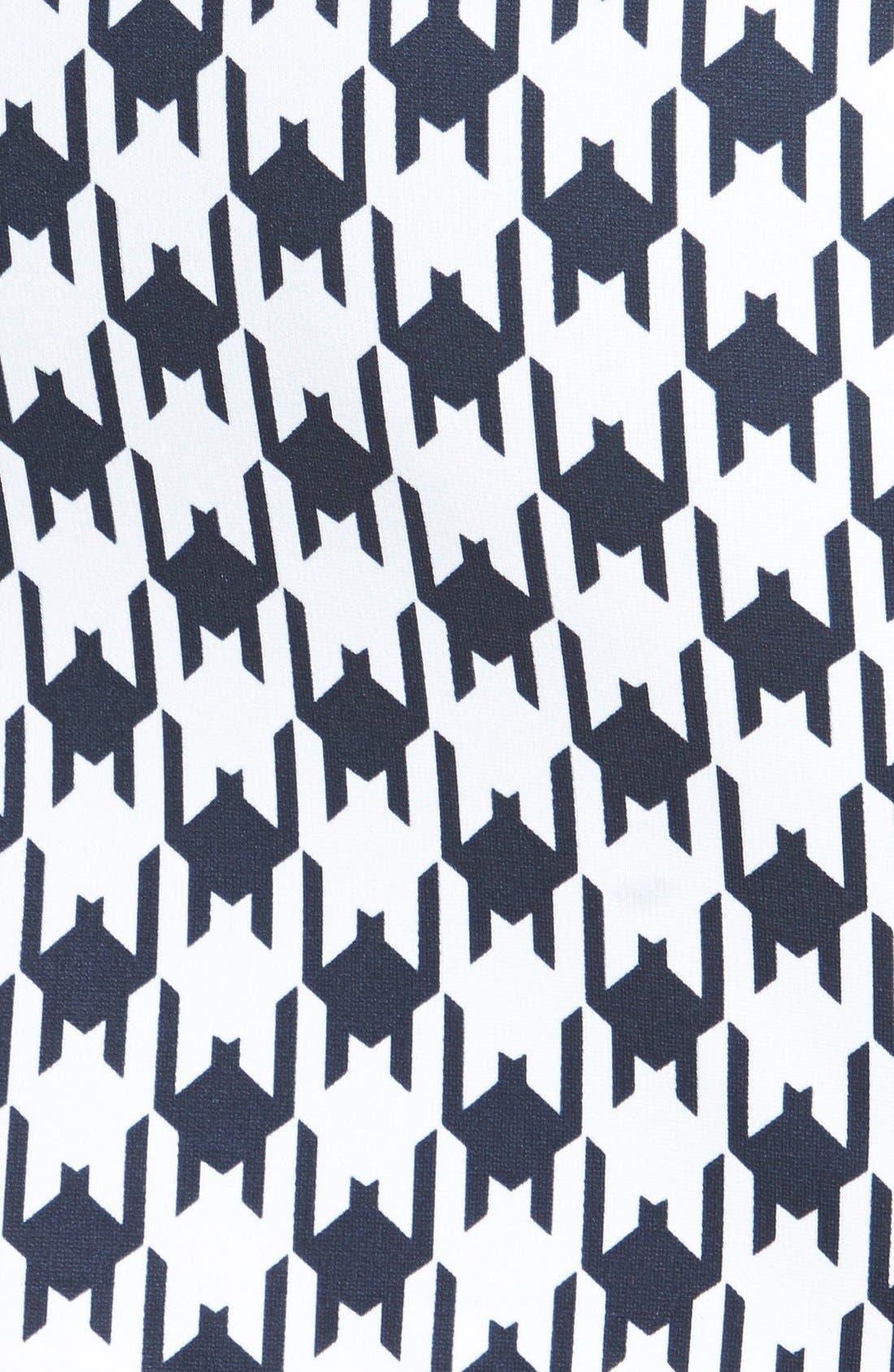 Alternate Image 3  - MICHAEL Michael Kors Print Zip Front Knit Miniskirt