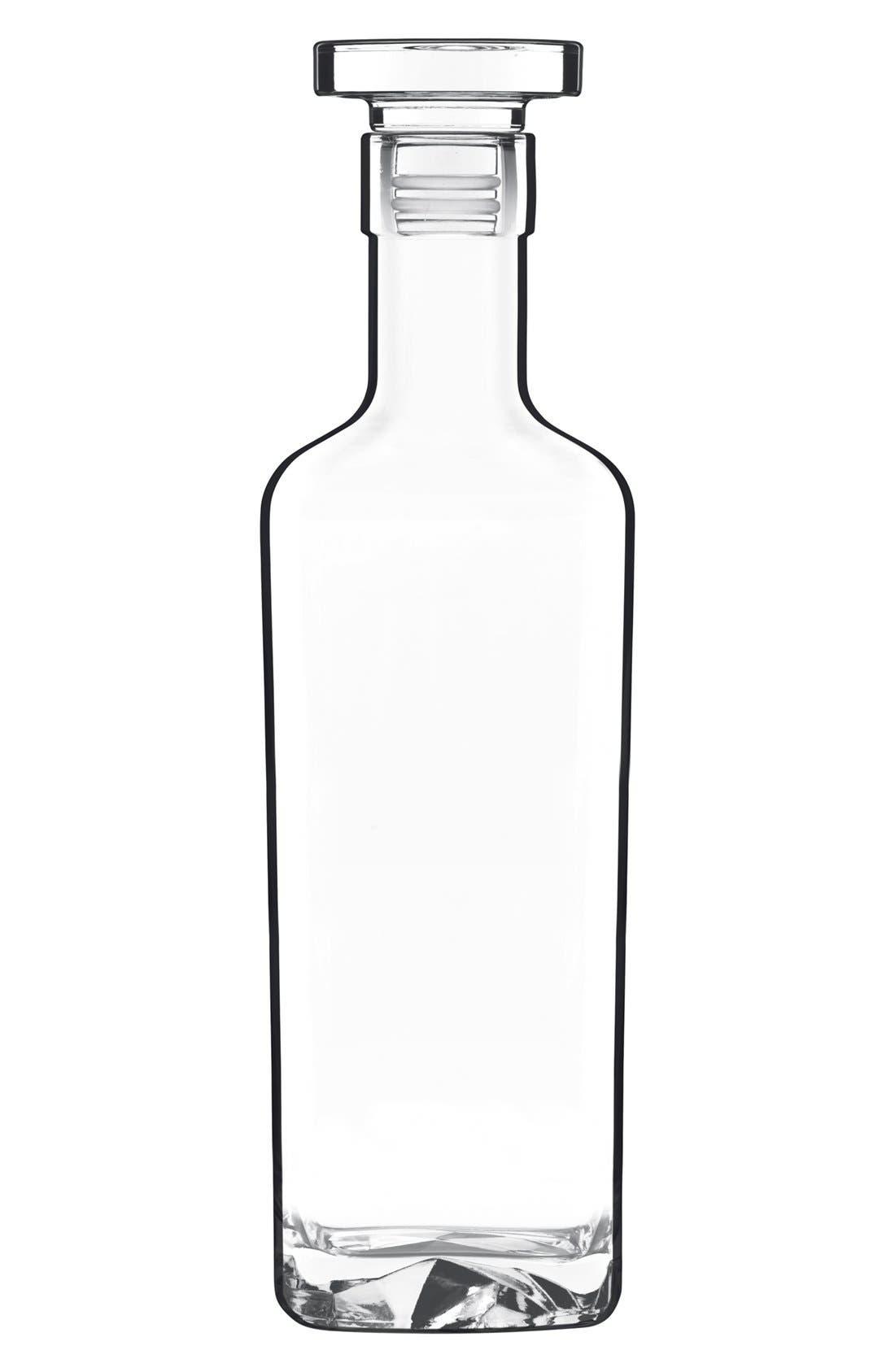 'On the Rocks' Spirits Bottle,                         Main,                         color, White