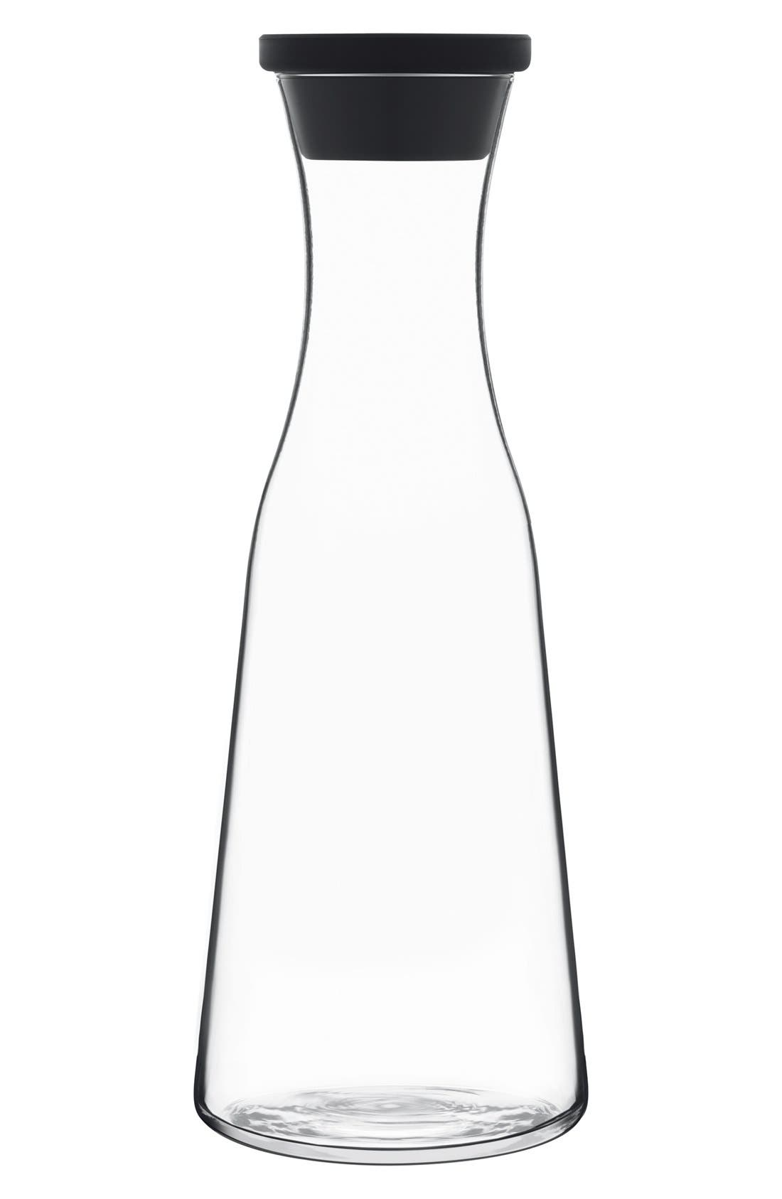 'Prestige' Carafe & Lid,                             Main thumbnail 1, color,                             White