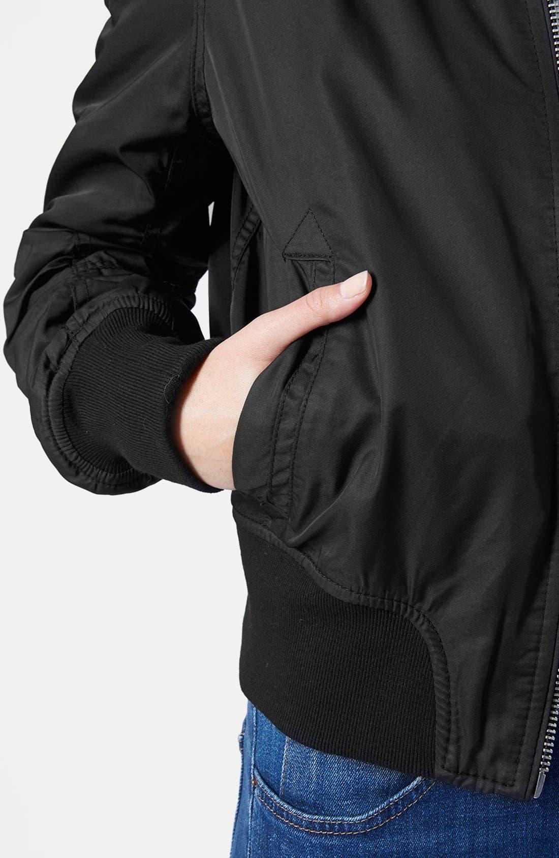 Alternate Image 4  - Topshop 'Boris' Bomber Jacket
