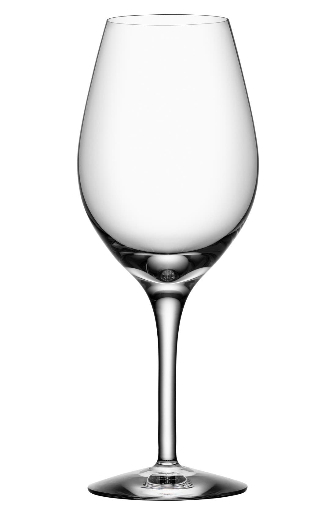 Alternate Image 1 Selected - Orrefors 'More' Wine Glasses (Set of 4)