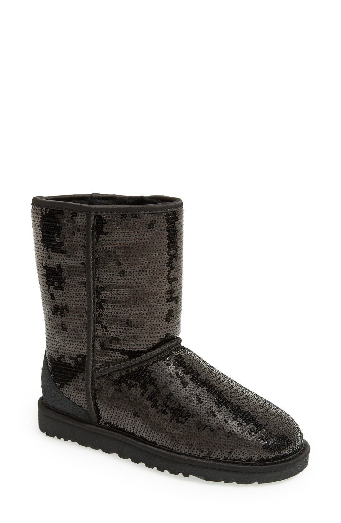 Alternate Image 1 Selected - UGG® Classic Short with Sparkles Boot