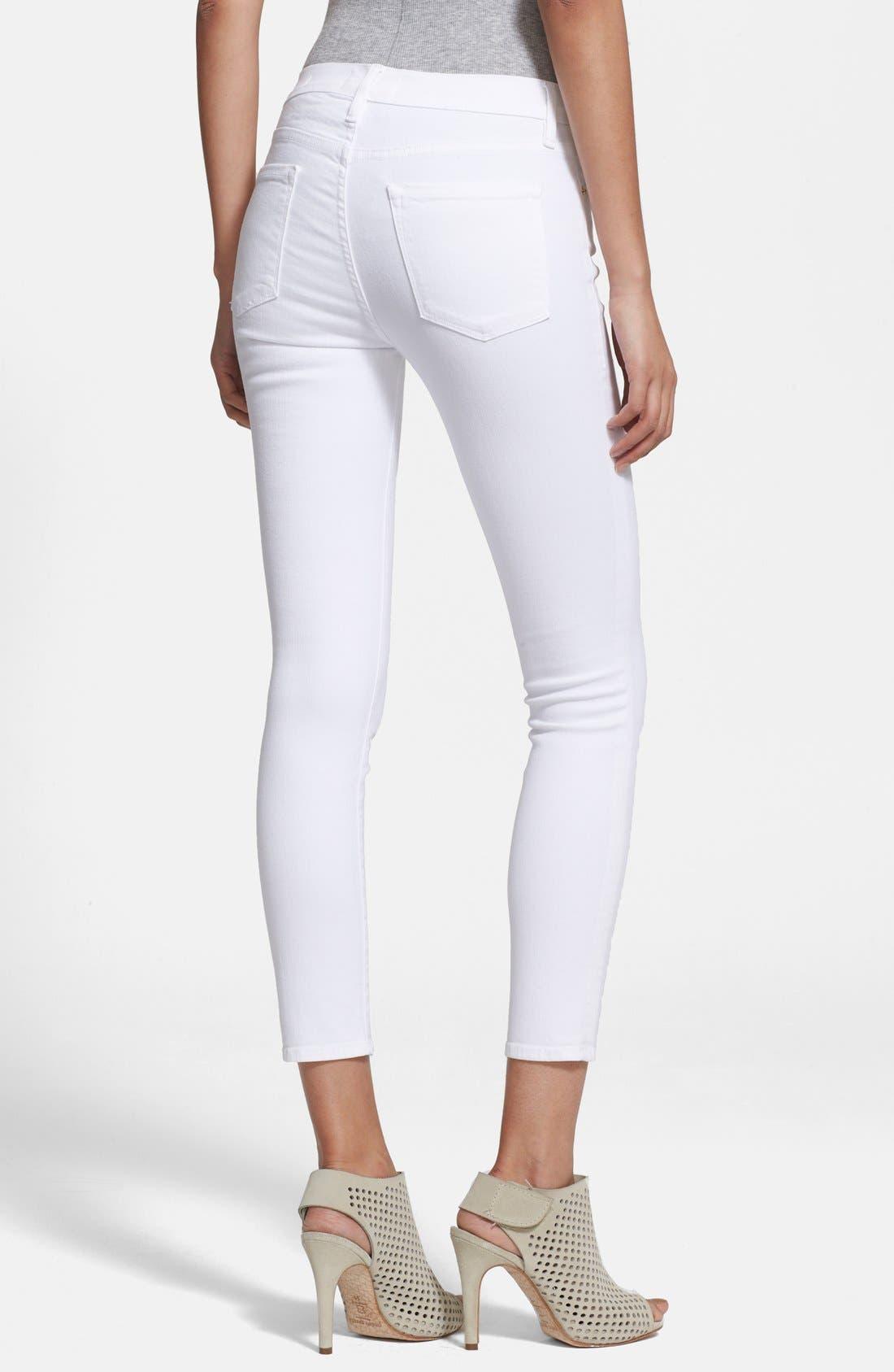 Alternate Image 2  - Frame Denim 'Le Color Crop' Skinny Jeans