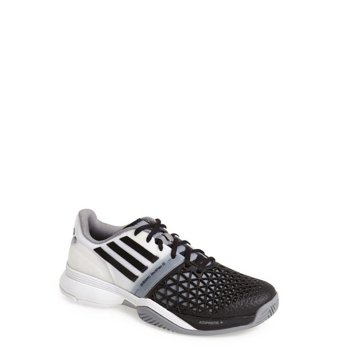 buy online 4c2ce 839a4 ... mens running shoes M21367 Main Image - adidas Adizero Feather III  Tennis Shoe .