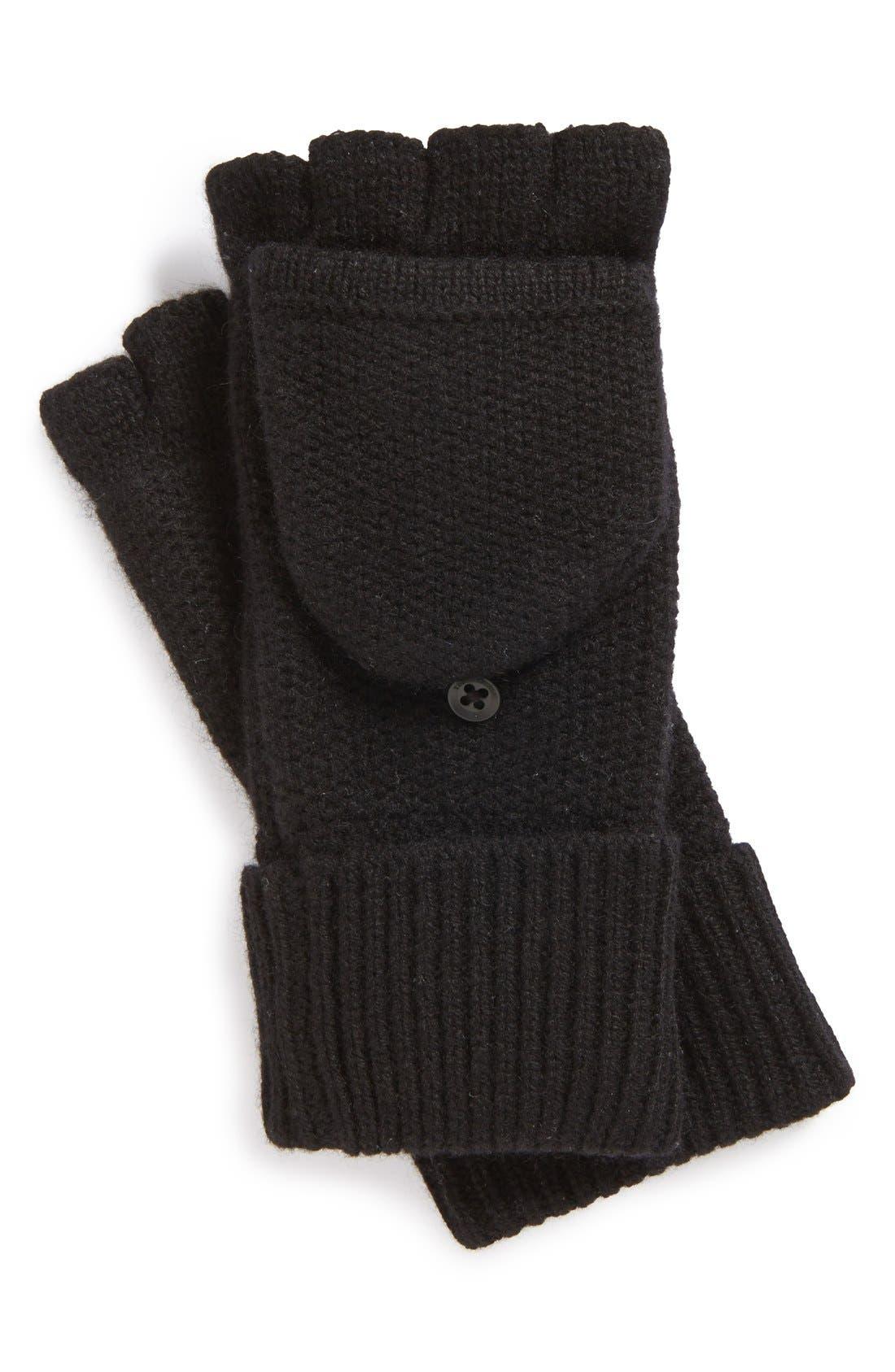 Main Image - rag & bone 'Keighley' Fingerless Cashmere Gloves