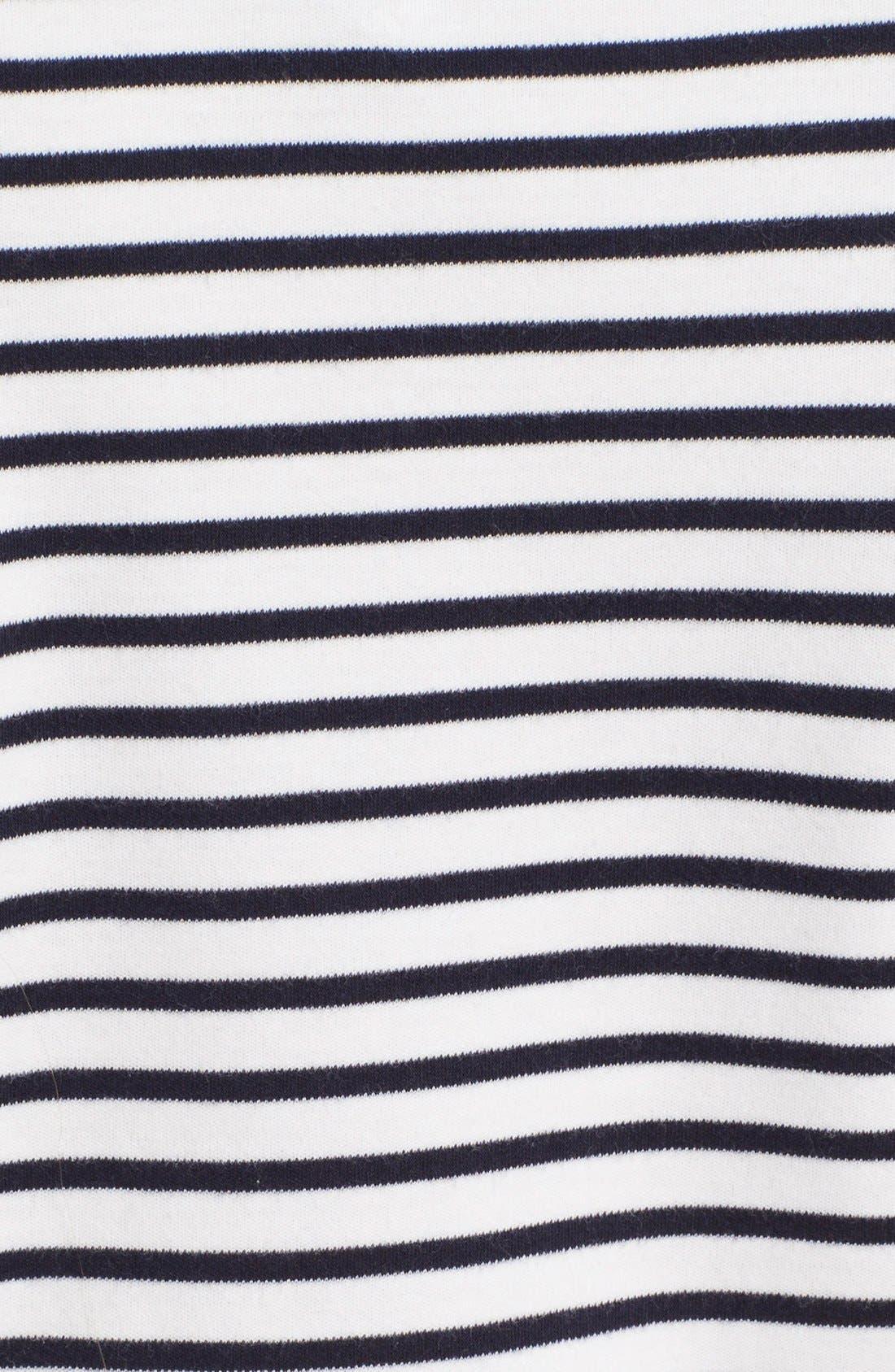 Alternate Image 3  - Theory 'Cherry' Stripe Pima Cotton T-Shirt Dress